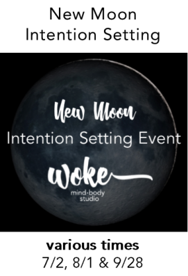 New Moon Intention