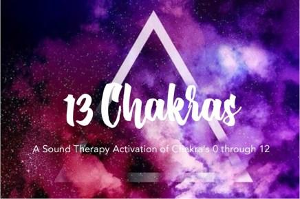 13 Chakras