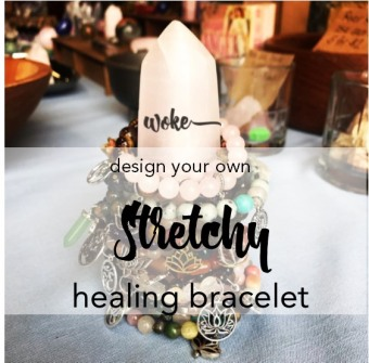 design your own - stretchy bracelet