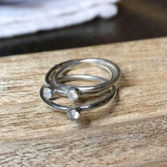 Moonstone Stacking Ring $15