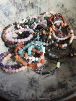 Gemstone Stretchy Bracelets