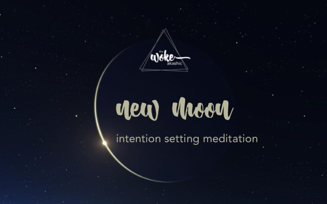 New Moon Intention Meditation 071520 with TWA logo